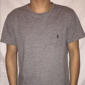 Men's Gray Ralph Lauren Polo shirt